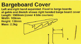 Bargeboard Cover