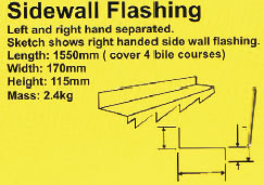 Sidewall Flashing